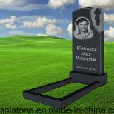A lápide quente do granito do estilo do russo da venda para o memorial com projeta