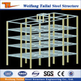Costruzione prefabbricata chiara della struttura d'acciaio per piano di progetto di costruzione del banco del gruppo di lavoro del magazzino dell'ufficio il multi