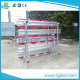 Plastic Seats를 가진 Steel Dismountable Seating Bleachers System