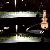 Farol perfeito do diodo emissor de luz dos acessórios do carro H4 do projeto impermeável o mais novo de Fanless da chegada
