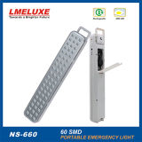 Protable recargable 60PCS SMD LED de luz de emergencia