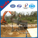 100t / H Alluvial Rotary Gold Mining Separator