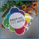 Hängendes Auto-Luft-Erfrischungsmittel-förderndes Papierluft-Erfrischungsmittel