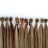 Estensione Nano brasiliana dei capelli dell'anello dei capelli umani di Remy di colore del piano
