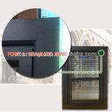 Tipo francese finestra di alluminio placcata di legno di girata di inclinazione della stoffa per tendine