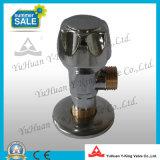 Válvula de ângulo de batente de bronze com alça de zinco (YD-C5028)