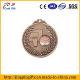 Diferença personalizados Medalha de galvanização de antiguidades para venda