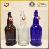 Qualitäts-bernsteinfarbiger/freier/blauer stämmiger Bierflasche-Großverkauf (1132)