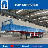 タイタンの手段-販売のための半3つの車軸塀のトレーラーの容器輸送のトレーラー