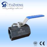 Mini fabricant femelle de robinet à tournant sphérique d'acier inoxydable en Chine