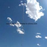 башня телекоммуникаций оттяжки антенны 10-80m стальная