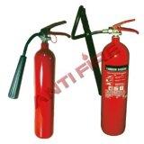Extintor de incendios aprobado CO2 de BS En3