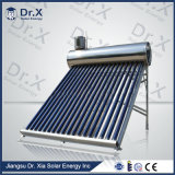 100L de compacte Verwarmer van het Water van de Pijp van de Hitte Zonne