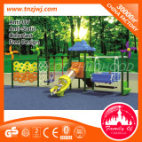 Climbing Frame를 가진 Quality 높은 Plastic Swing Playset 정원 Swing