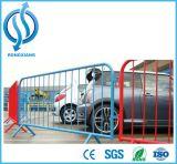 Frontière de sécurité provisoire de maille en métal pour la route