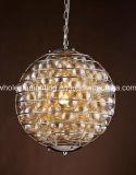 Moderne Leuchter-Lampe mit Glaskugeln