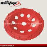 7 колесо чашки профессионала PCD дюйма меля для извлекать эпоксидную смолу
