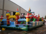 Замок раздувного спорта оживлённый для игрушки малышей (B091)