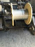 電流を通された鋼線ロープ/Electro。 電流を通された鋼線ロープ