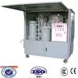 Tipo incluido de máquina usada del purificador de aceite del transformador
