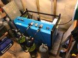compressor de ar portátil do mergulho autónomo de 200L/Min 300bar/compressor de ar de alta pressão