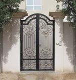 Mão - casa decorativa feita porta principal do ferro feito