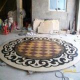 Panneaux de marbre carrés Design Waterproof Medallion Floor Pattern