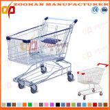 슈퍼마켓 아시아 작풍 아연 쇼핑 트롤리 (Zht33)