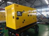 Planta de Energía móvil tipo remolque generador de la rueda de 20kw - 400kw