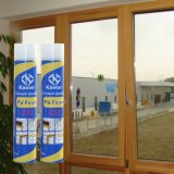 Installation de la fenêtre de porte bon marché, mousse de polyuréthane (Kastar 222)