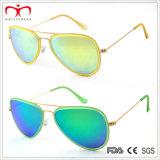 A forma a mais nova e óculos de sol coloridos do metal (MI203)