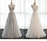 Reizvolle Backless formale Braut-elegante Bankett-Kleider