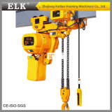 Alci 7.5t Lowe Headroom Electric Chain Hoist con Motorized Trolley (CE-ISO Approved)