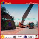 Blad 45m van de wind Aanhangwagens van de Vrachtwagen van Lowbed van de Toren van de Lengte de Semi Verlengbare