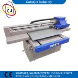 치료하는 디지털 평상형 트레일러 UV 잉크 제트 LED 기계 PVC 비자 신용 카드 인쇄 기계 인쇄