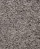 Bouton rond d'encolure vers le haut du T-shirt de toile de chandail