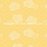 Tessuto del materasso del tricot stampato poliestere di disegno del fiore 100%