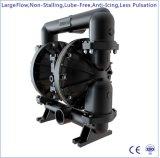 """3 """" grand flux en aluminium double pompe à diaphragme à commande pneumatique"""