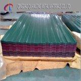 물결 모양 Prepainted 직류 전기를 통한 지붕을 다는 강철판