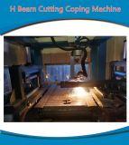 Träger-Profil-Stahlplasma-Ausschnitt-Maschine CNC-H verwendet für Stahlbaugeräte