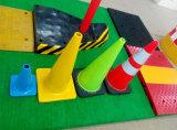 28インチ石灰トラフィックの障壁の交通標識の危険信号の交通安全のトラフィックの円錐形