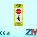EU様式横断歩道のための太陽停止交通標識/交通標識