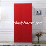 تصميم بسيطة لون خشبيّة خزانة ثوب/مقصورة