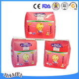 Fabricante de fraldas para bebé descartáveis de alta qualidade