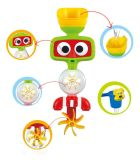 1432525-Cartoon Pattern Water Pulvérisation Bath Shower Toy for Kid