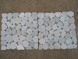 壁の装飾のためのカスタム普及した大理石のモザイク・タイル