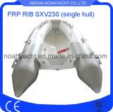 Sxv230 scelgono il peschereccio della nervatura del guscio della vetroresina