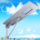 80W de alto brillo del sensor de movimiento Solar LED integrado Street Lightr