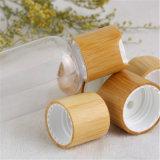 Chapeau cosmétique de module avec le bambou