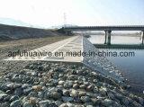 Het gegalvaniseerde pvc Met een laag bedekte Netwerk van de Draad van de Fabrikant van China van de Doos Gabion